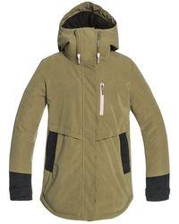 Roxy Willowtree jacket verde