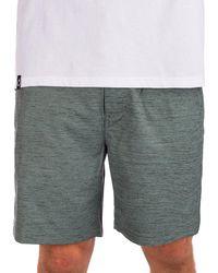 "Hurley Df flex marwick 18"" shorts verde"