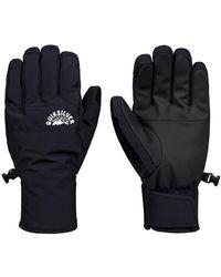 Quiksilver Cross Gloves negro