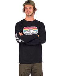 Coal Tracker Long Sleeve T-Shirt - Blau