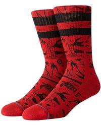 Stance JJF Voyage Socks rojo