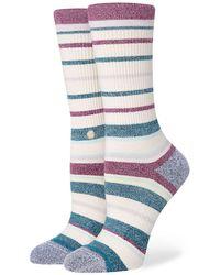 Stance Nice Finnish Crew Socks estampado - Multicolor