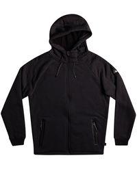 Quiksilver Kurow zip hoodie negro