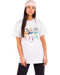 Primitive X Sailor Moon Ginza Scouts T-Shirt - Weiß
