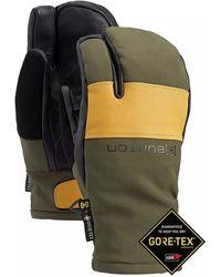Burton Ak gore-tex clutch mittens verde - Multicolor