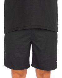 "Hurley Dri-fit marwick volley 18"" shorts negro"