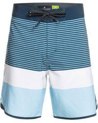 Quiksilver Surfsilk Tijuana 18 Boardshorts azul