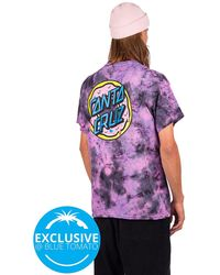 Odd Future X santa cruz donut t-shirt tiedye - Morado