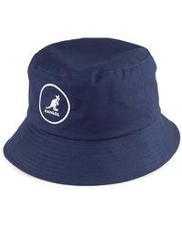 Kangol Cotton Bucket Hat azul