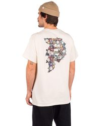 Primitive Dirty P Tribute T-Shirt blanco - Multicolor
