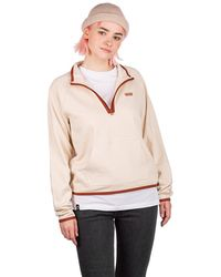 Vans Surf supply half zip mock sweater blanco - Multicolor