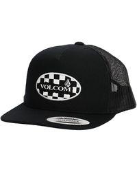 Volcom Wilmer Cheese Trucker Hat negro