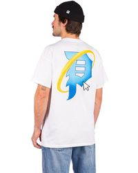 Primitive Explorer pocket t-shirt blanco