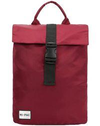 Mi-Pac SP Nylon Pack Backpack rojo