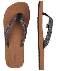 O'neill Sportswear Woven Strap Sandals negro - Multicolor