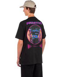 Primitive Systems T-Shirt - Schwarz