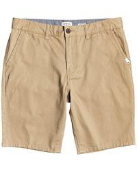"Quiksilver Everyday 20"" chino light shorts estampado - Neutro"