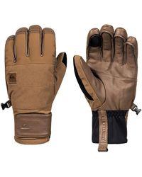 Quiksilver Squad Gloves marrón - Multicolor