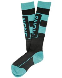 Mons Royale Merino cushion tech socks azul - Negro