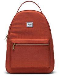 Herschel Supply Co. Nova Mid Volume Backpack marrón - Rojo