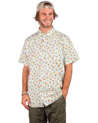 Dravus Landon Ritz Shirt estampado - Marrón