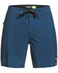 """Quiksilver Highline Piped 18"""" Boardshorts azul"""
