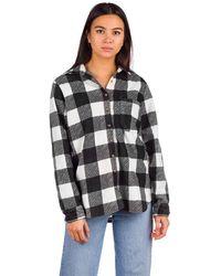 Billabong Forge Flannel Shirt estampado - Negro