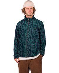 Quiksilver Sound Waves Fleece Jacket azul - Multicolor