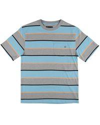 Empyre Poindexter Pocket Stripe T-Shirt estampado - Azul