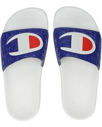 Champion M-evo sandals blanco - Azul