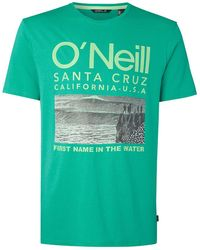 O'neill Sportswear Surf T-Shirt - Grün