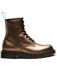 Dr. Martens Vegan 1460 Chrome Metallic Boot Shoes
