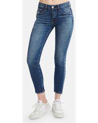 Moussy Vintage Sundance Skinny Jeans - Blue