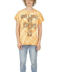 Madeworn Rock - Madeworn Guns N' Roses Tie Dye Tee - Lyst