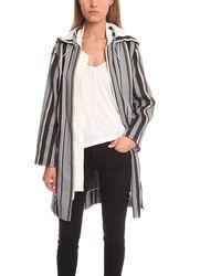 3.1 Phillip Lim Striped Parka Jacket - White