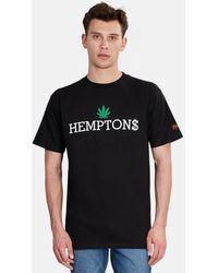 Blue & Cream X Ssur Hemptons Graphic T-shirt Shirt - Black