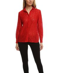 Roseanna Nice Galloway Shirt - Red