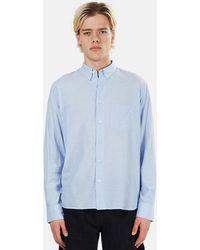 La Paz Branco Button Down Shirt - Blue