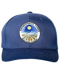 Blue & Cream - Sagaponack Flex Fit Hat - Lyst