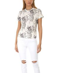 Zimmermann Wayfarer Pineapple T-shirt - White