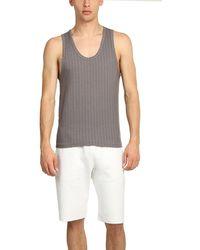V :: Room Knit Tank Top - Grey