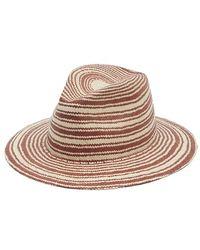 Rag & Bone Panama Hat - Red
