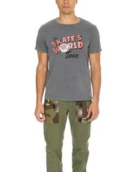 Remi Relief World Tour Graphic T-shirt - Grey