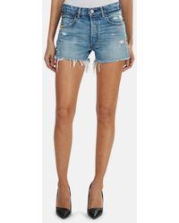 Moussy Vintage Calumet Shorts - Blue
