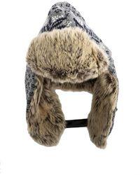 Woolrich - Fairisle Glacier Hat - Lyst
