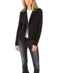 Majestic Filatures - French Terry Moto Jacket - Lyst