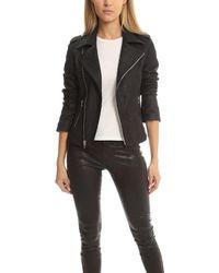 RTA Nico Biker Jacket - Black