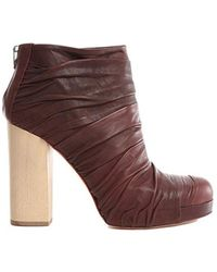 LD Tuttle Stretch Boot Shoes - Brown