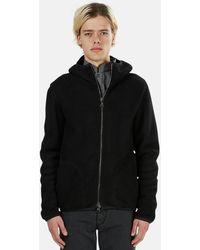 Giorgio Brato Shearling Fur Hoodie Jacket - Black