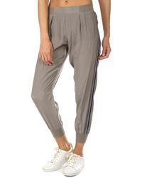 ATM Silk Pull On Trousers - Gray